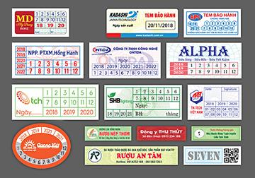 Một vài lưu ý khi thiết kế và in tem bảo hành - In Nhanh Bến Lức