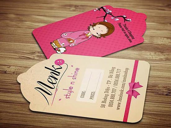 In thẻ treo cho các sản phẩm thời trang