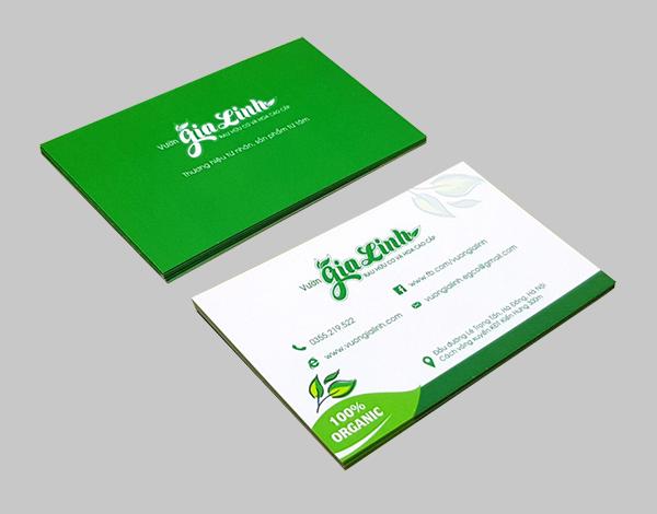 Danh thiếp (name card, card visit) có thiết kế đẹp và chất lượng in sắc nét
