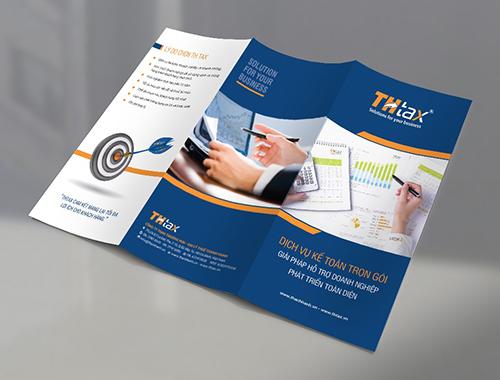 Tờ rơi - brochure có thiết kế đẹp và chất lượng in sắc nét