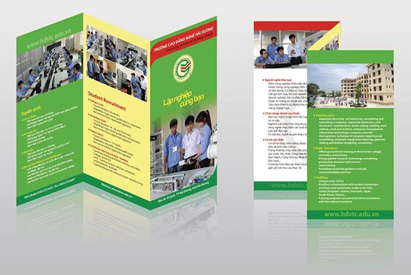 In tờ rơi - brochure chuyên nghiệp đảm bảo uy tín chất lượng tại Bến Lức, Long An