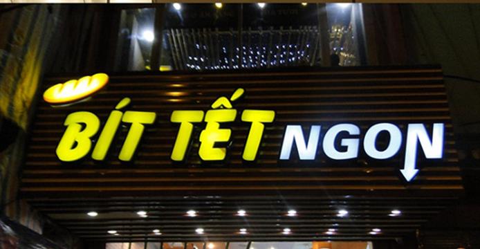 Bảng quảng cáo chữ nổi, đèn LED